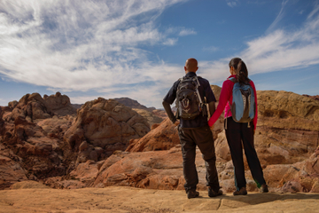Valley of Fire Wanderung ab Las Vegas