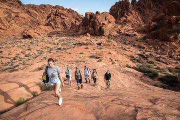 Wandeltour door Valley of Fire vanuit ...