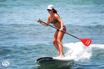 Clase de surf de remo en Isla Grande