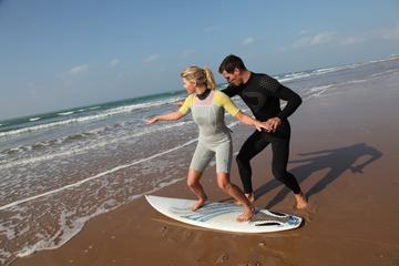 Clase privada de surf en Isla Grande