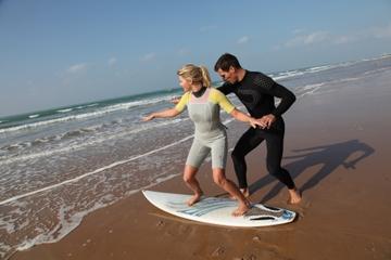 Leçon de surf privée à Big Island
