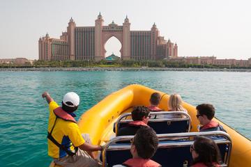 Crucero en barco neumático rígido en Dubái: Palm Jumeirah y puerto...