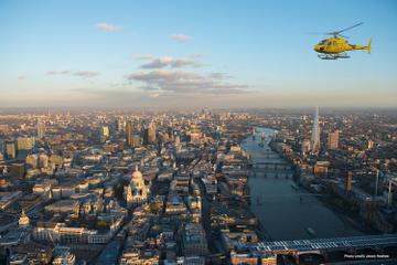 Visite privée: vol en hélicoptère à Londres