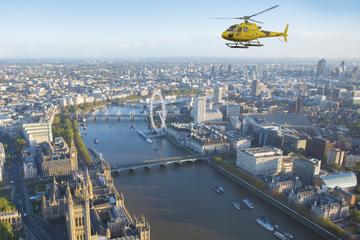 Voo de helicóptero em Londres
