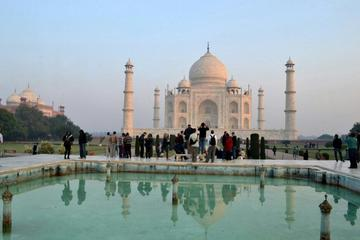 Taj Mahal Sunrise Tour From Jaipur