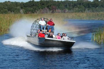 Tour de aerobarco em Everglades com transporte saindo de Miami