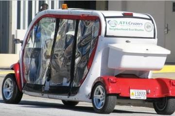 Atlanta Stadtrundfahrt im elektrischen Auto