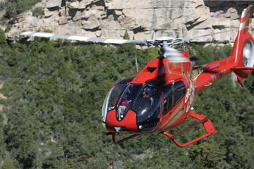 Helikopterturer i Grand Canyon med valgfri jeeptur