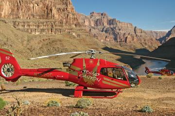 Tour in elicottero da Las Vegas al Grand Canyon con picnic e Champagne