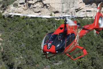 Vuelos en helicóptero por el Gran Cañón con excursión en jeep opcional