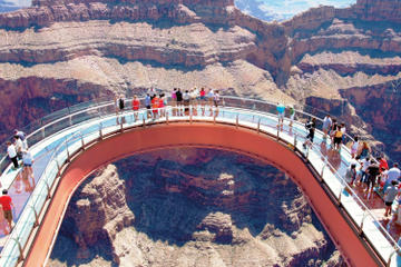 Das Beste vom Westrand: Grand Canyon Rundflug, optional mit ...
