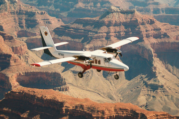 Rondvlucht over de Grand Canyon West Rim