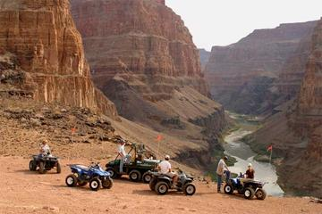 Tour aereo e a terra del North Rim del Grand Canyon con giro in quad