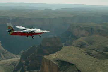 Tour por cielo y tierra en el borde sur del Gran Cañón desde Las Vegas