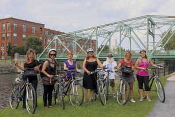 Excursão de bicicleta a carrinhos de comida em Montreal