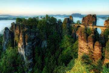 Best of Bohemian and Saxon Switzerland National Park Day Trip from Prague