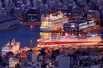 Service de navette du centre d'Athènes au port du Pirée