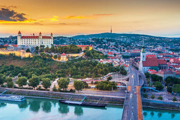 From Vienna: Discover Bratislava Private Tour with Luxury car and Local guide