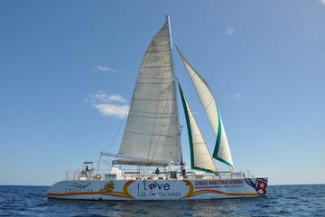 Papagayo Catamaran Cruise with Lunch and Transfers