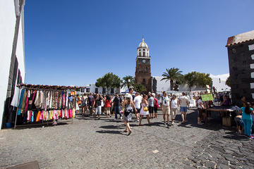 Teguise Market and Cesar Manrique in Lanzarote