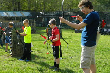 Day Trip Arrow Tag Archery Games near Nashville, Indiana