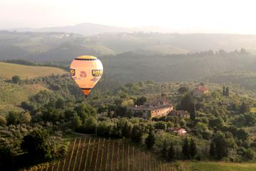 Vol en montgolfière en Toscane