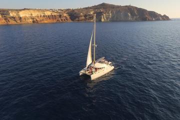 Santorini Catamaran TailorMade Private Full Day Cruise