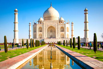Taj mahal tour by Gatiman Express  in Executive class With Meals and Entrances