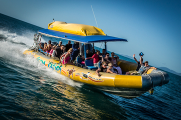 Excursão de rafting para a Praia de Whitehaven