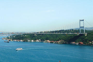 Bosphorus Strait Cruise and City Bus Tour with Cable Car