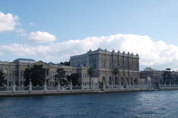 Dolmabahce Palace and Bosphorus...