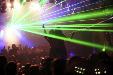 Experiência de clube noturno em Nova York