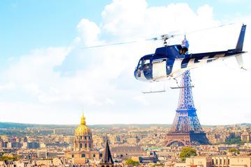 Tour en hélicoptère à Versailles au départ de Paris