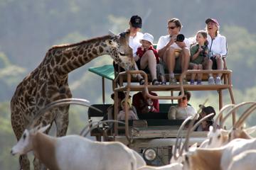 Entrada a Safari West Sonoma y recorrido en jeep