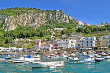 Semi-begeleide tour van Capri
