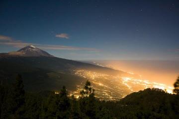 Excursión al monte Teide por la noche