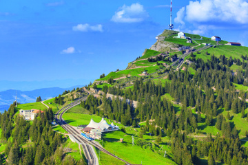 Unabhängige Rigi-Bergtour ab Luzern mit Bootstour auf dem...