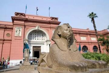 Cairo Pyramids & Museum Day Trip from Alexandria Port