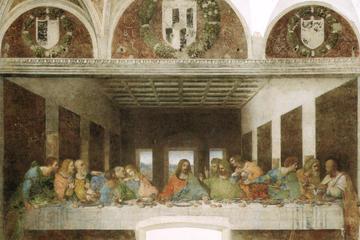 """Spring køen over: adgangsbillet til Leonardo Da Vincis """"Den Sidste..."""
