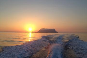 Crociera al tramonto e cena al porto