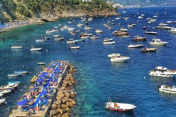 Escursione sulla costiera Amalfitana in barchetta a motore