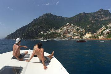 Praiano and Amalfi Coast Full Day Private Boat Excursion from Praiano