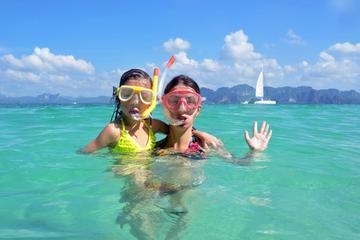 Excursion en plongée avec masque et tuba au départ de Saint-Martin