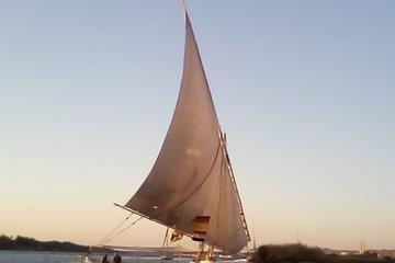 Felucca sailboat ride in Aswan city