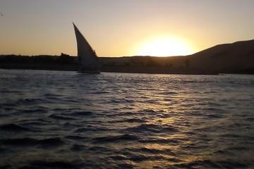 Felucca sailboat ride in Luxor city