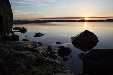 Circuit photo à pied privé au lever du soleil à Djurgarden comprenant...