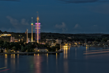 Stockholm bei Nacht: Foto-Rundgang