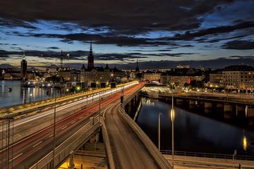 Stockholm la nuit : balade...