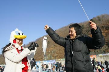 Festival de hielo y nieve en Hwacheon...