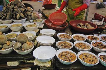 Noryangjin Fish Market and Han River Bike Tour